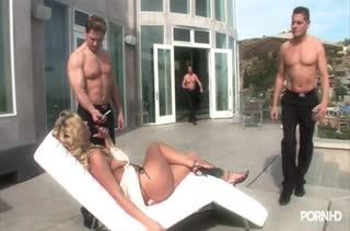 Жесткое порно видео с двойным проникновением №1088 1