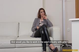 Сексуальные чики легко соглашаются на порно кастинг №747 2