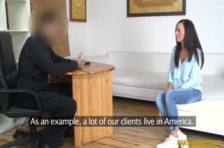 Сочная телочка захотела попробовать порно кастинг №751 1
