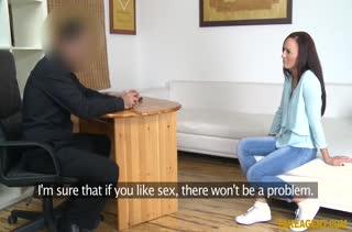 Сочная телочка захотела попробовать порно кастинг №751 2