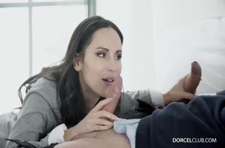 От нереального дикого секса телка классно извивается №2661